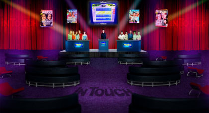 InTouch Gameshow rendering